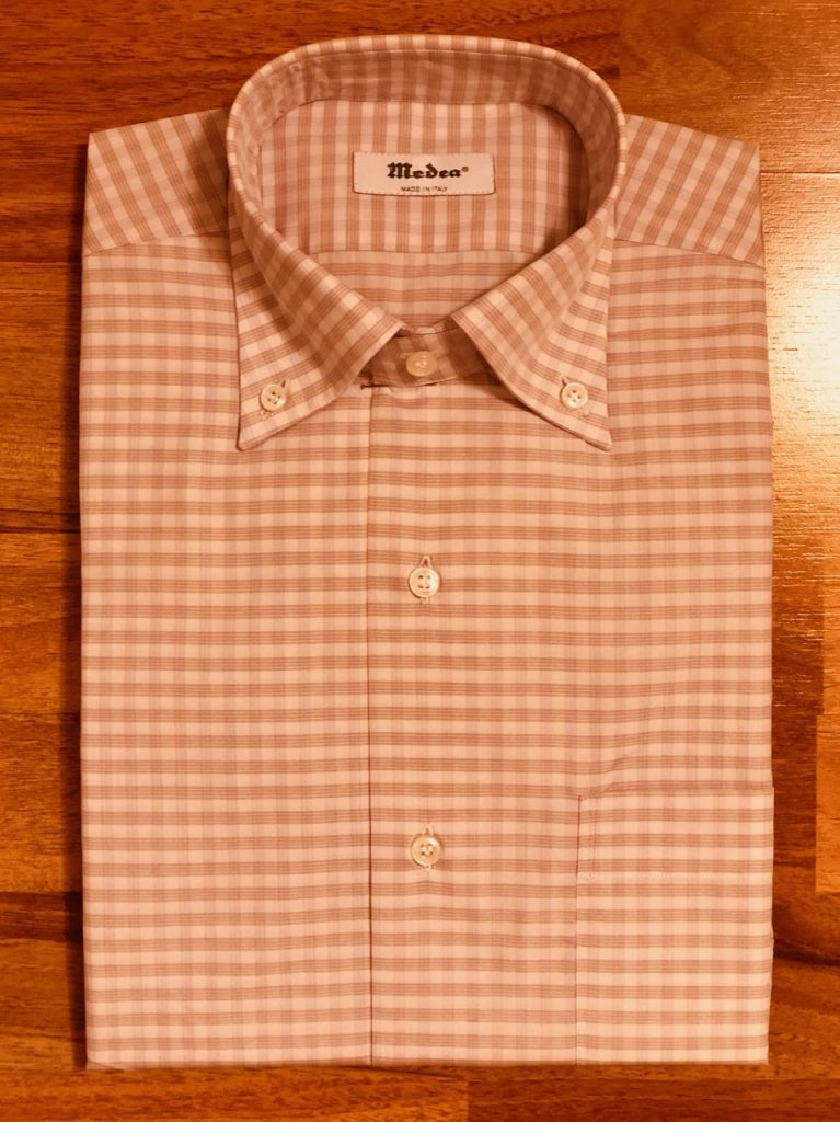 Bespoke shirt from Medea