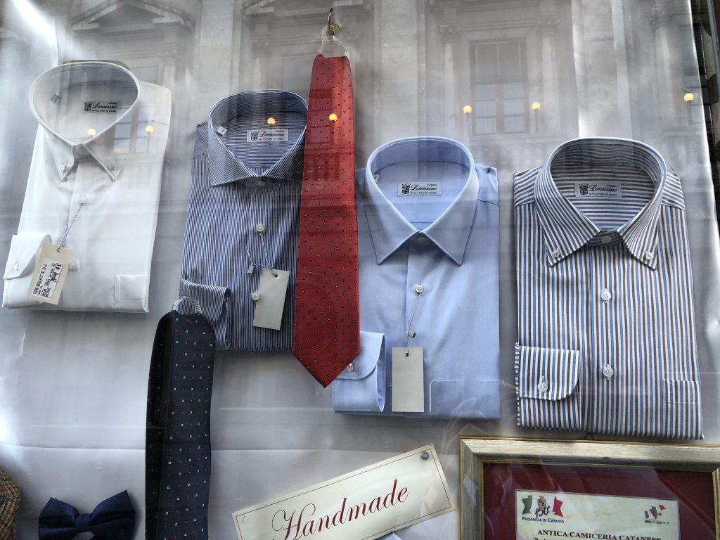 Lorenzino sample shirts