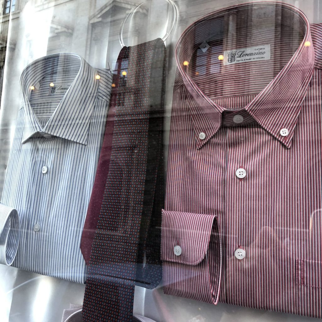 Lorenzino sample shirts
