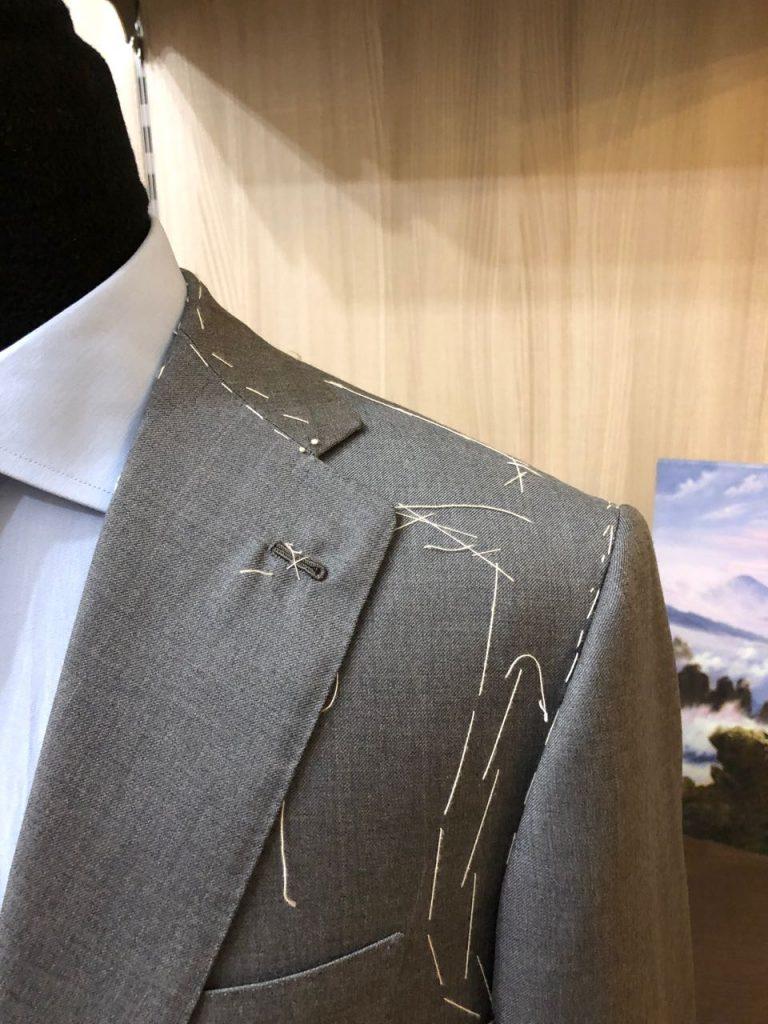 Palermitan jacket shoulder