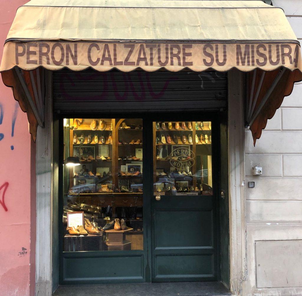 Peron & Peron storefront. Photo credit: Juhn Maing