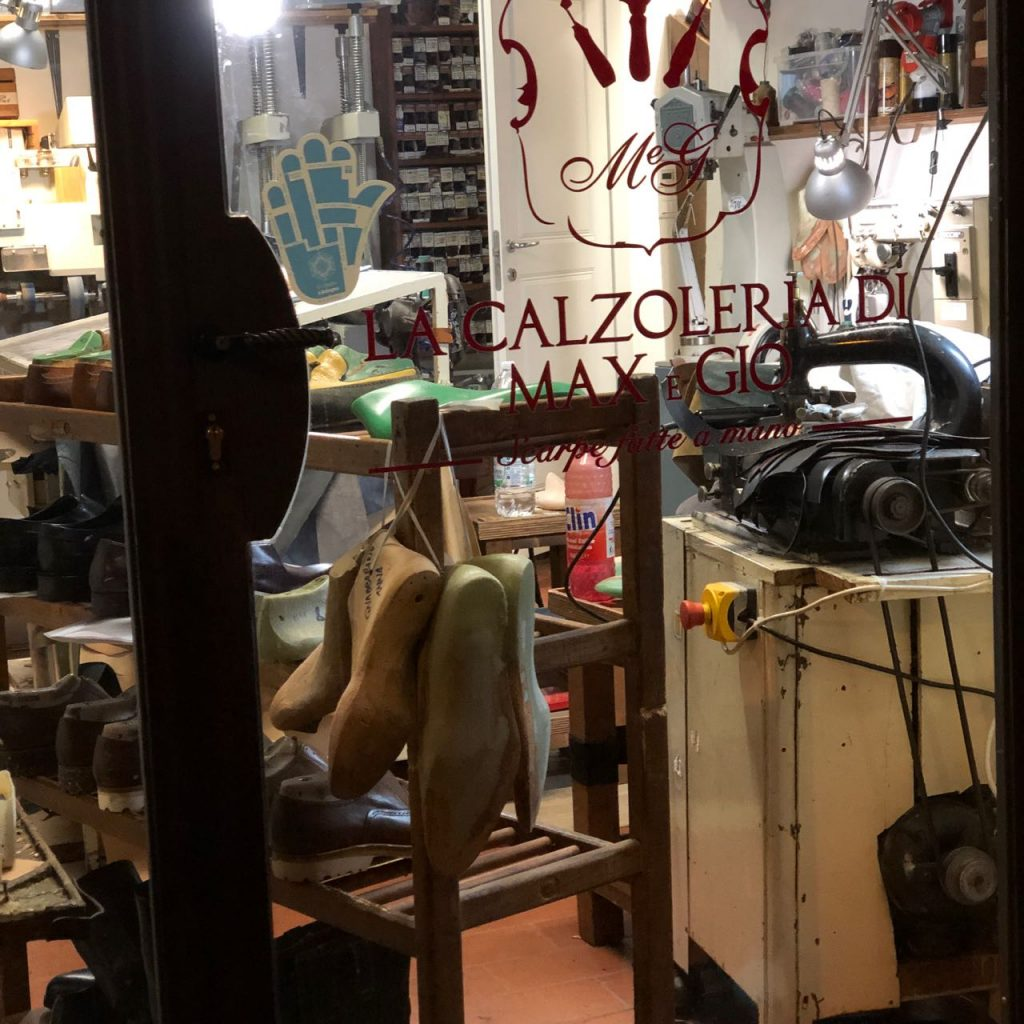Through the looking glass of Max & Gio's store. Photo credit: Juhn Maing