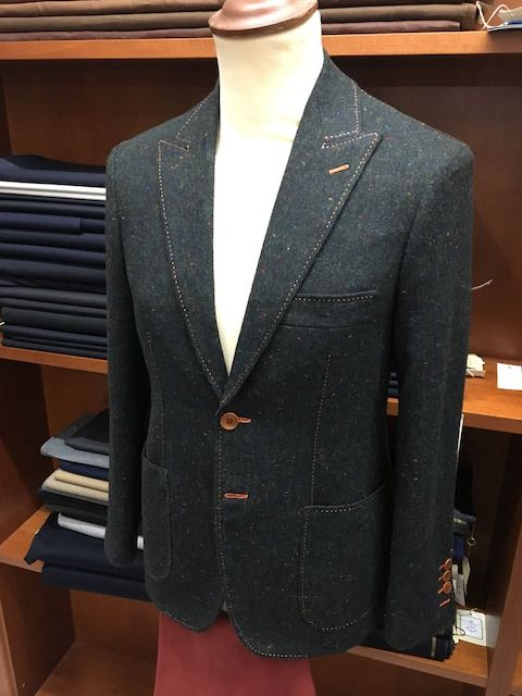 Sartoria Italiano sports jacket. Photo credit: Sartoria Italiano