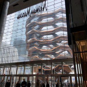Hudson Yards shopping entrance. Photo credit: Juhn Maing