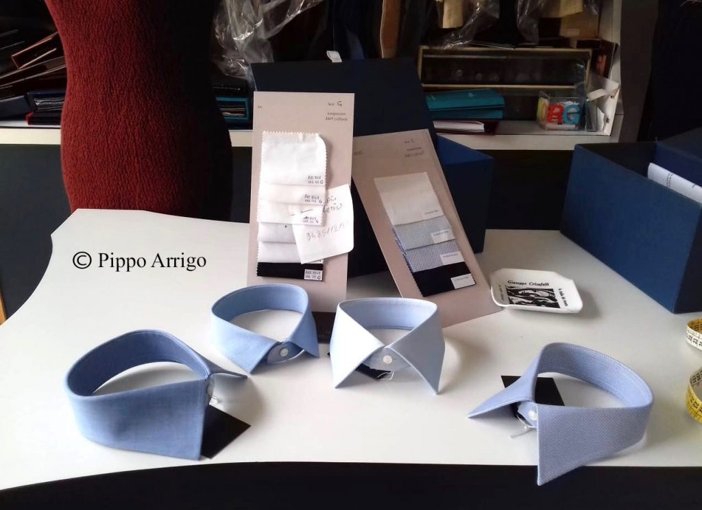 Pippo Arrigo shirts. Photo credit: Pippo Arrigo.