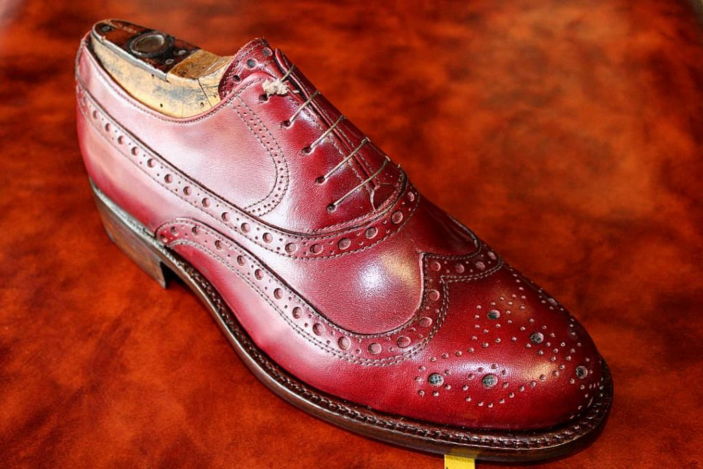 Pisana full brogue. Photo credit: Calzoleria Pisana