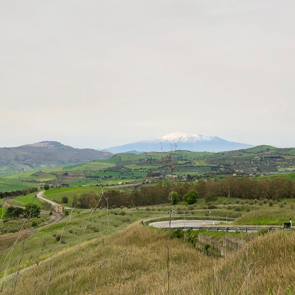 On the drive to Gagliano Castelferrato. Photo credit: Juhn Maing