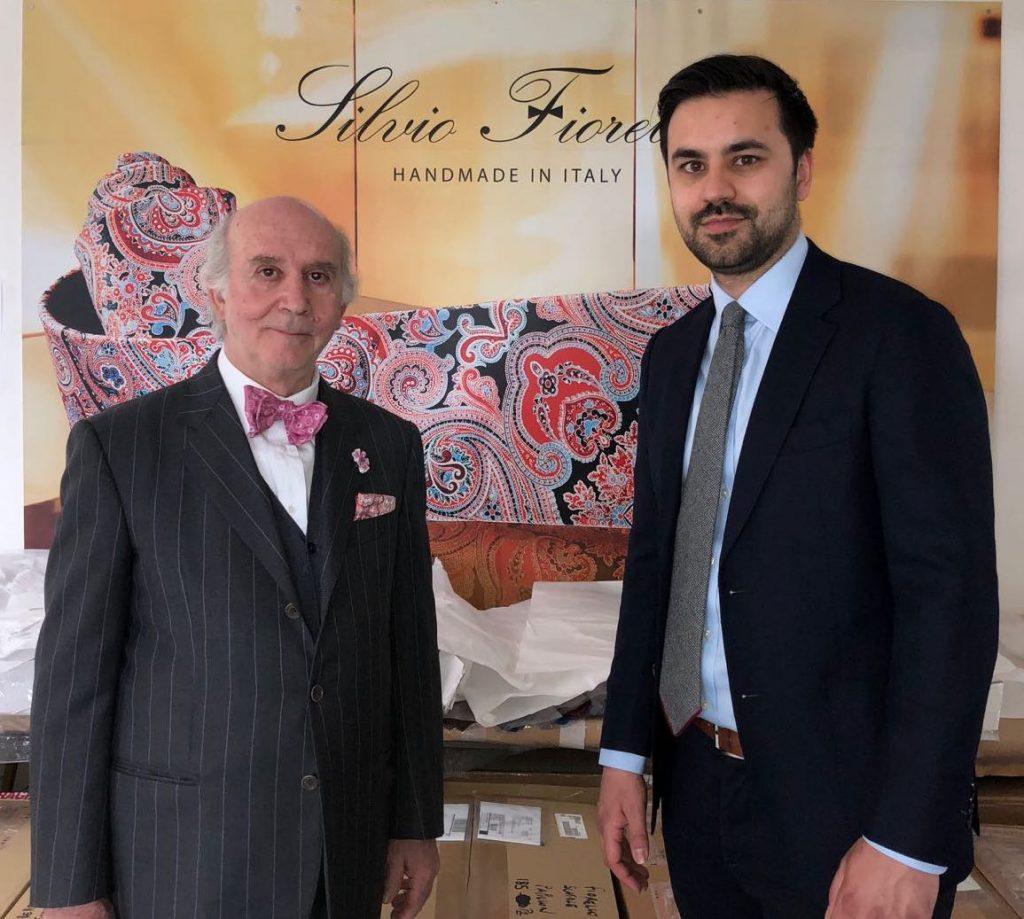 Silvio Fiorello and Gregory Colaco. Photo credit: Juhn Maing.
