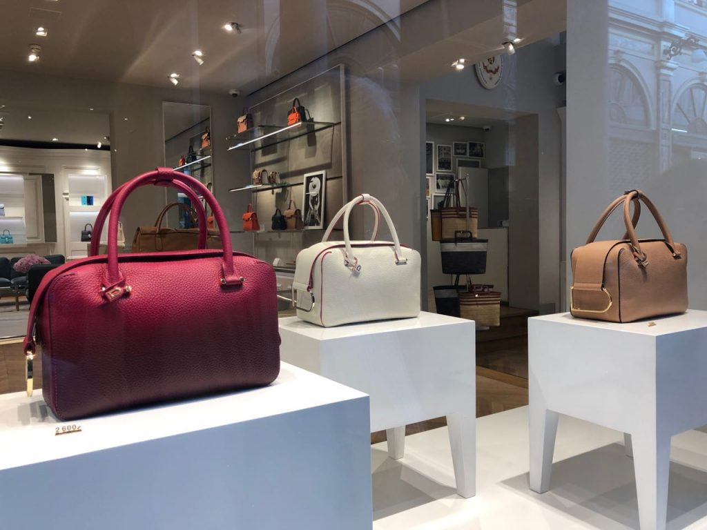 Delvaux window display. Photo credit: Juhn Maing