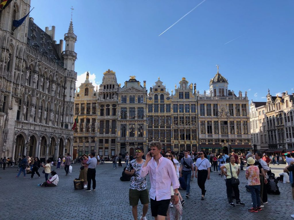 Grand Place in Brussels. Photo credit: Juhn Maing