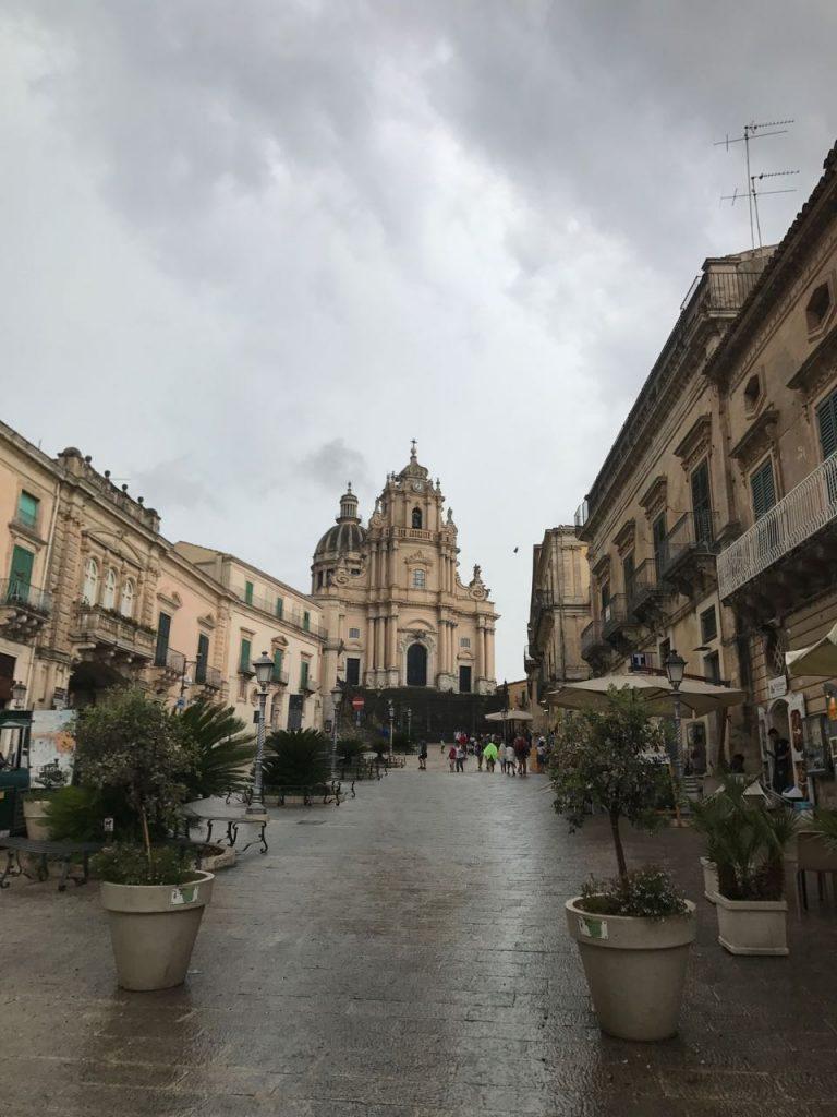 Cathedral of San Giorgio, Ragusa Ibla. Photo credit: Juhn Maing.