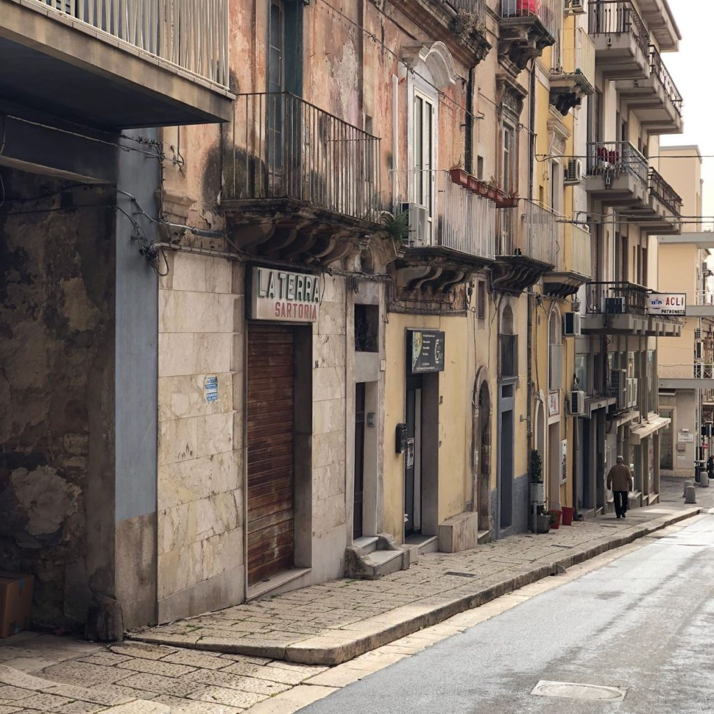 A view of Laterra's now closed workshop in Ragusa. Photo credit: Juhn Maing.