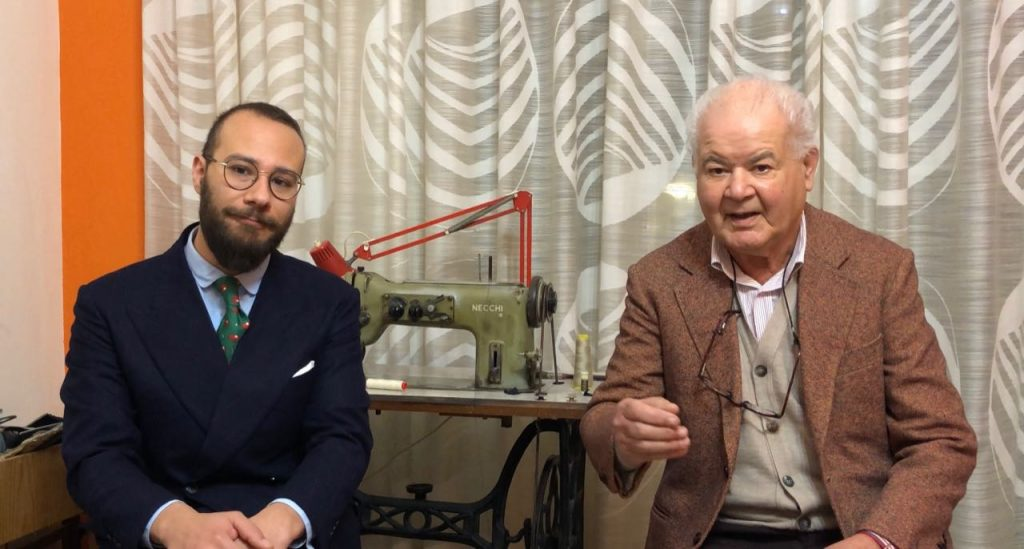 Video interview of Ragusa tailors Lorenzo Sparatore & Giuseppe Laterra